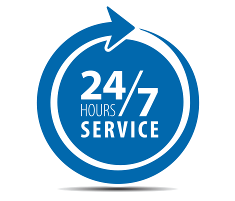 Image result for available 24/7 png blue